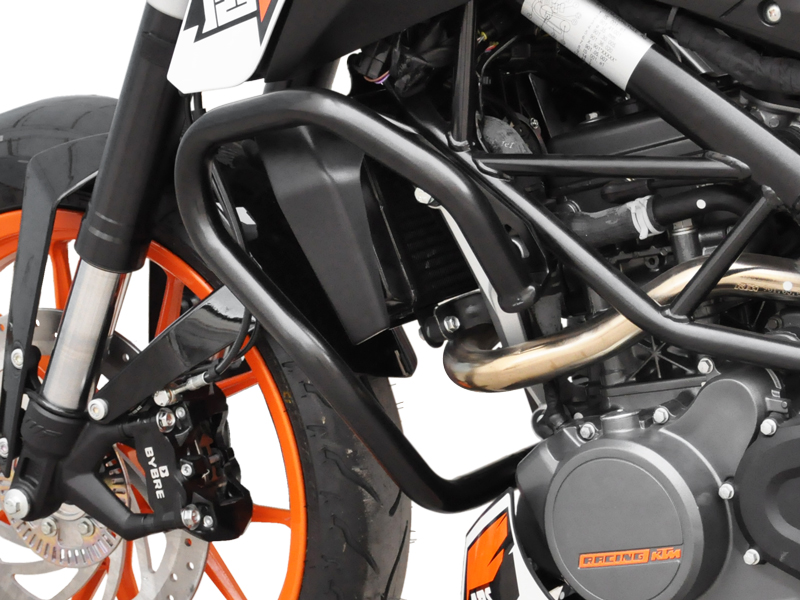 sturzb gel schutzb gel ktm duke 125 200 schwarz ebay. Black Bedroom Furniture Sets. Home Design Ideas