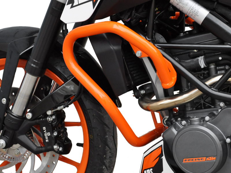 sturzb gel schutzb gel ktm duke 125 200 orange. Black Bedroom Furniture Sets. Home Design Ideas